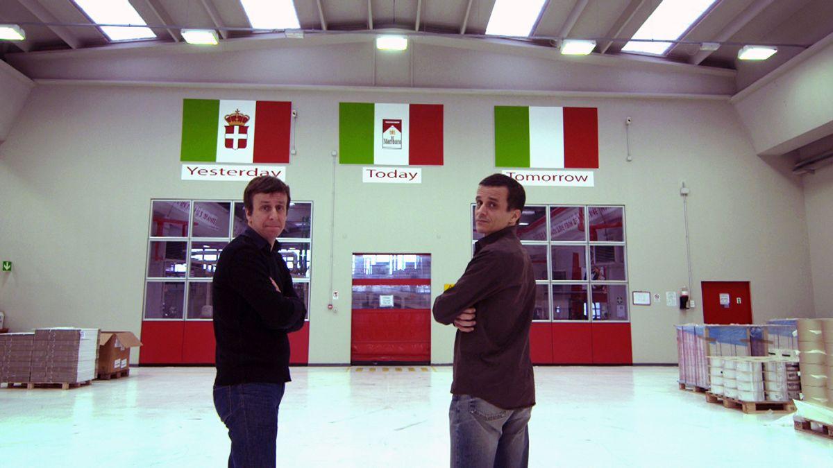 SmoKings: Carlo e Ganpaolo Messina in un'immagine tratta dal documentario