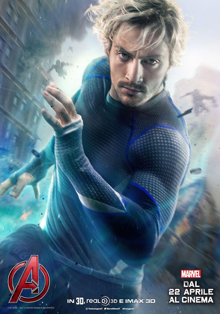 Avengers: Age of Ultron, il character poster italiano di Quicksilver