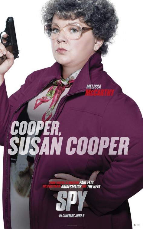 Spy: il character poster di Melissa McCarthy