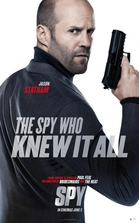 Spy: il character poster di Jason Statham