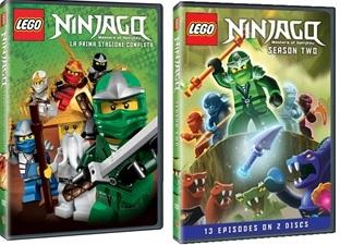 Le cover homevideo di Lega Ninjago