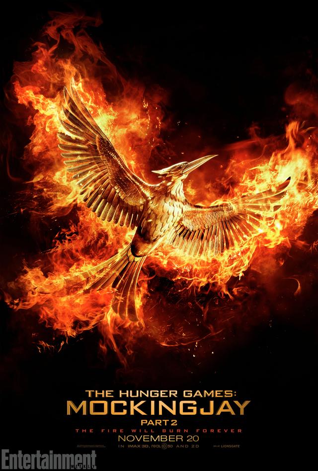 Hunger Games: Il canto della rivolta - Parte 2: il primo poster ufficiale del film