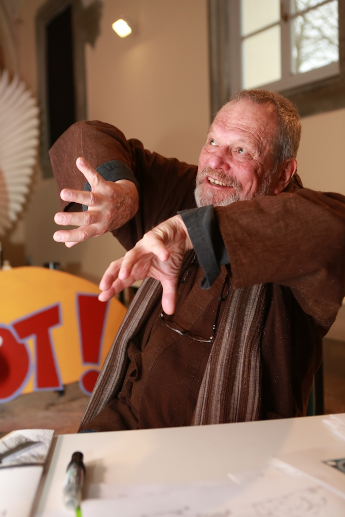 Terry Gilliam a Lucca prepara il Movie Circus