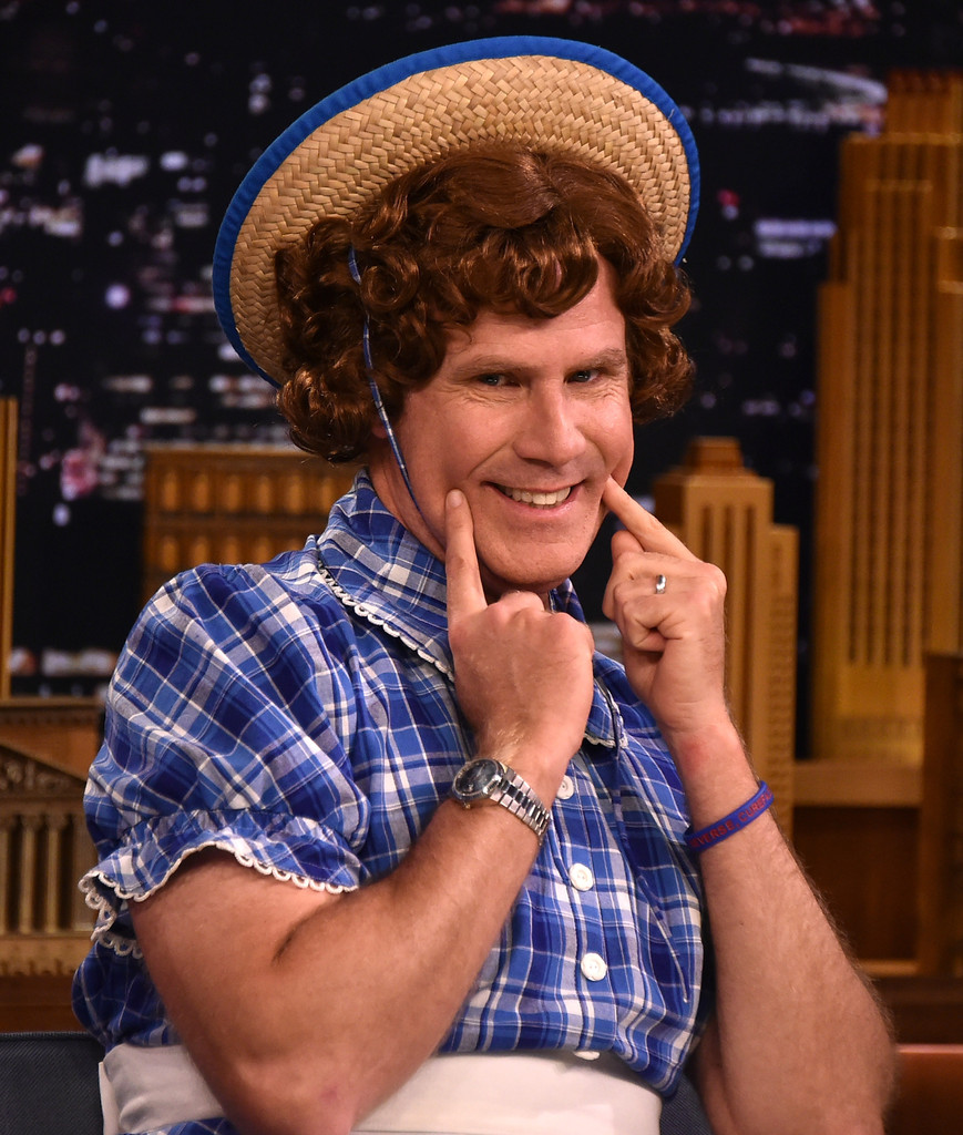 "Will Ferrell travestito da ""Little Debbie"" durante lo Show di Jimmy Fallon"