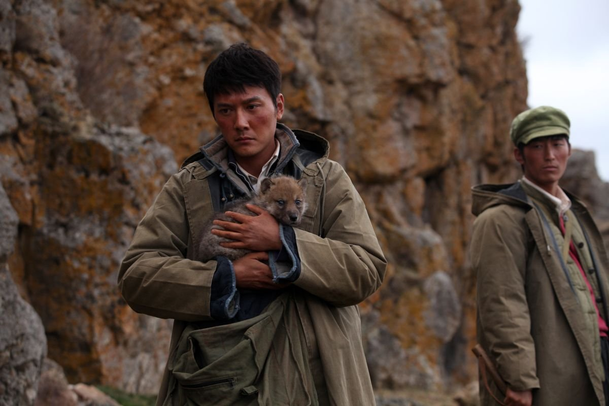 L'ultimo lupo: Feng Shao-feng in una scena del film