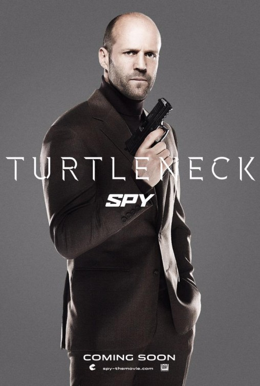 Spy: nuovo charachter poster di Jason Statham ispirato a Spectre