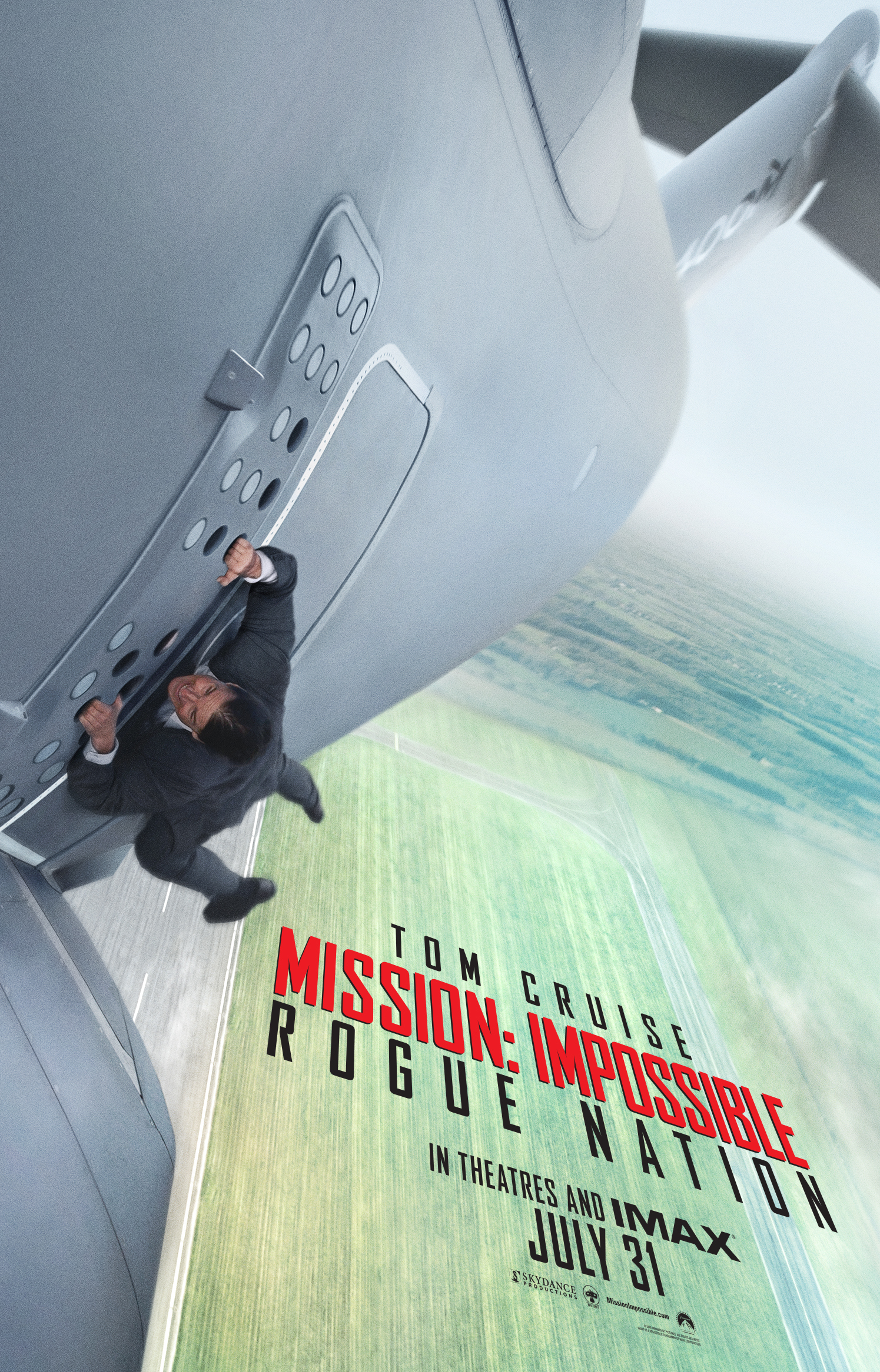 "Mission Impossible 5: il poster di ""Rogue Nation"""
