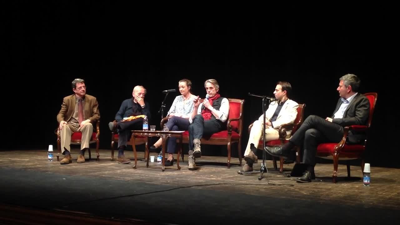 Jeremy Irons celebrato al Lucca Film Festival