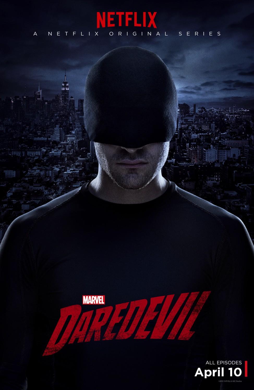 Daredevil: un poster per la serie con Charlie Cox
