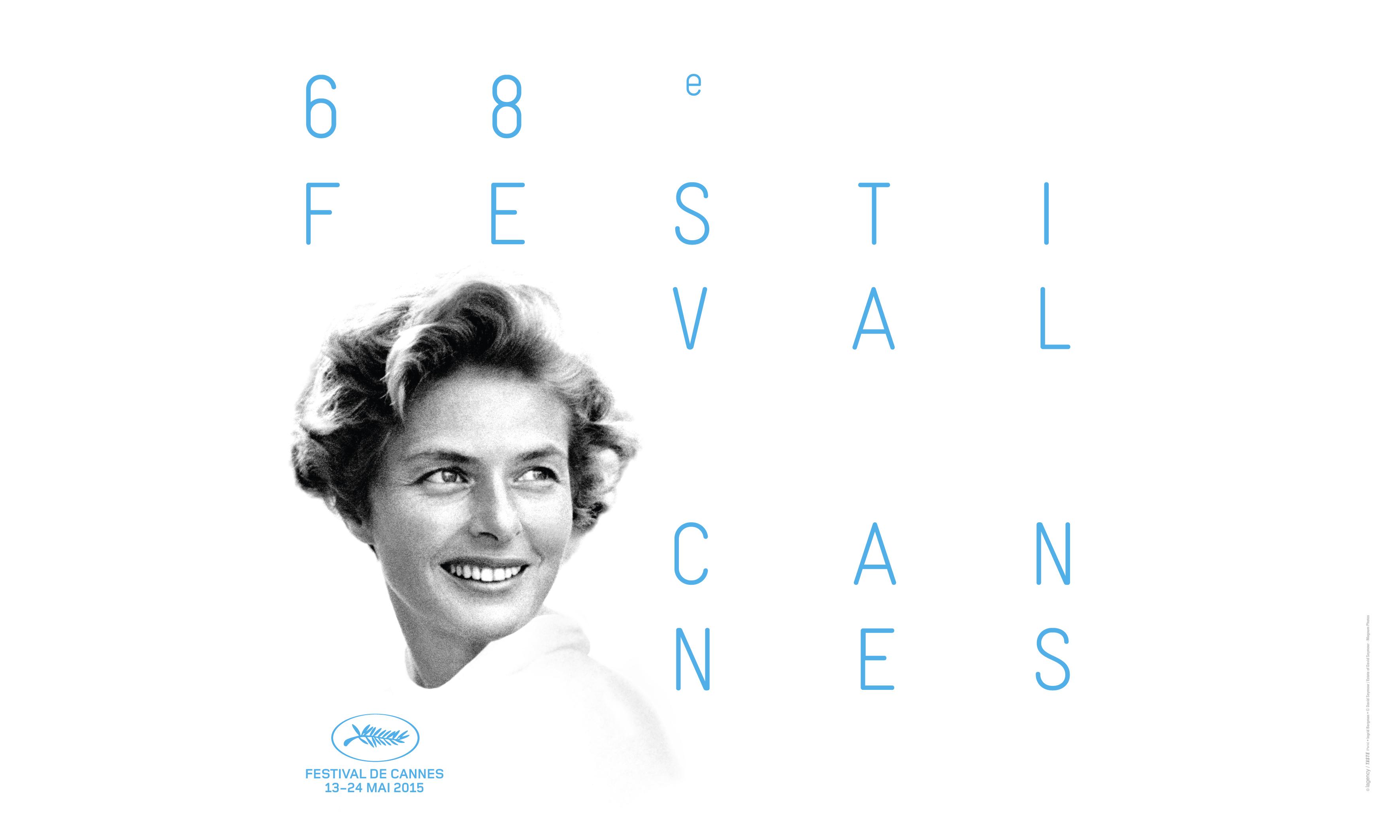 Festival de Cannes: il poster ufficiale che ritrae Ingrid Bergman