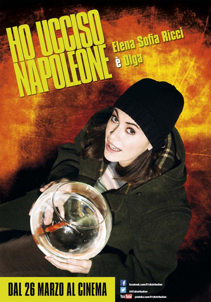 Ho ucciso Napoleone: character poster di Elena Sofia Ricci