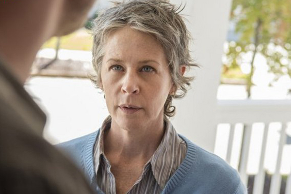 The Walking Dead: l'attrice Melissa McBride interpreta Carol in Spend
