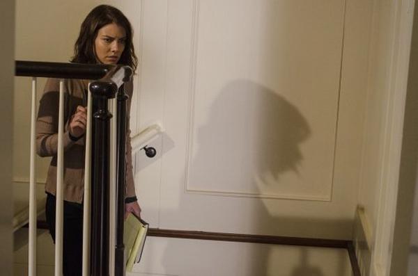 The Walking Dead: l'attrice Lauren Cohan in una scena di Spend