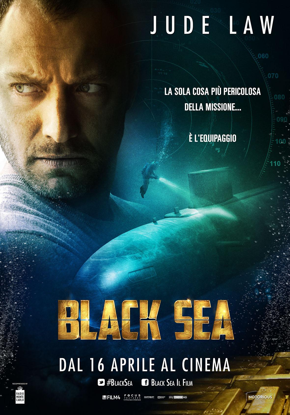 Locandina italiana di Black Sea