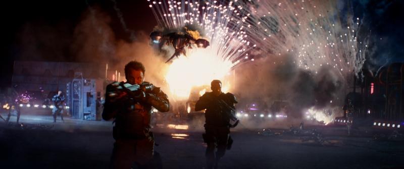 Terminator: Genisys - Jason Clarke e Jai Courtney in un'immagine tratta dal film diretto da Alan Taylor