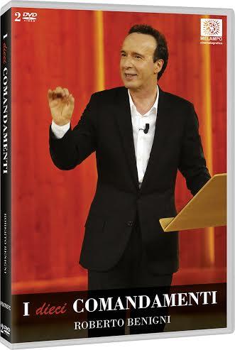 La cover del DVD di I dieci comandamenti