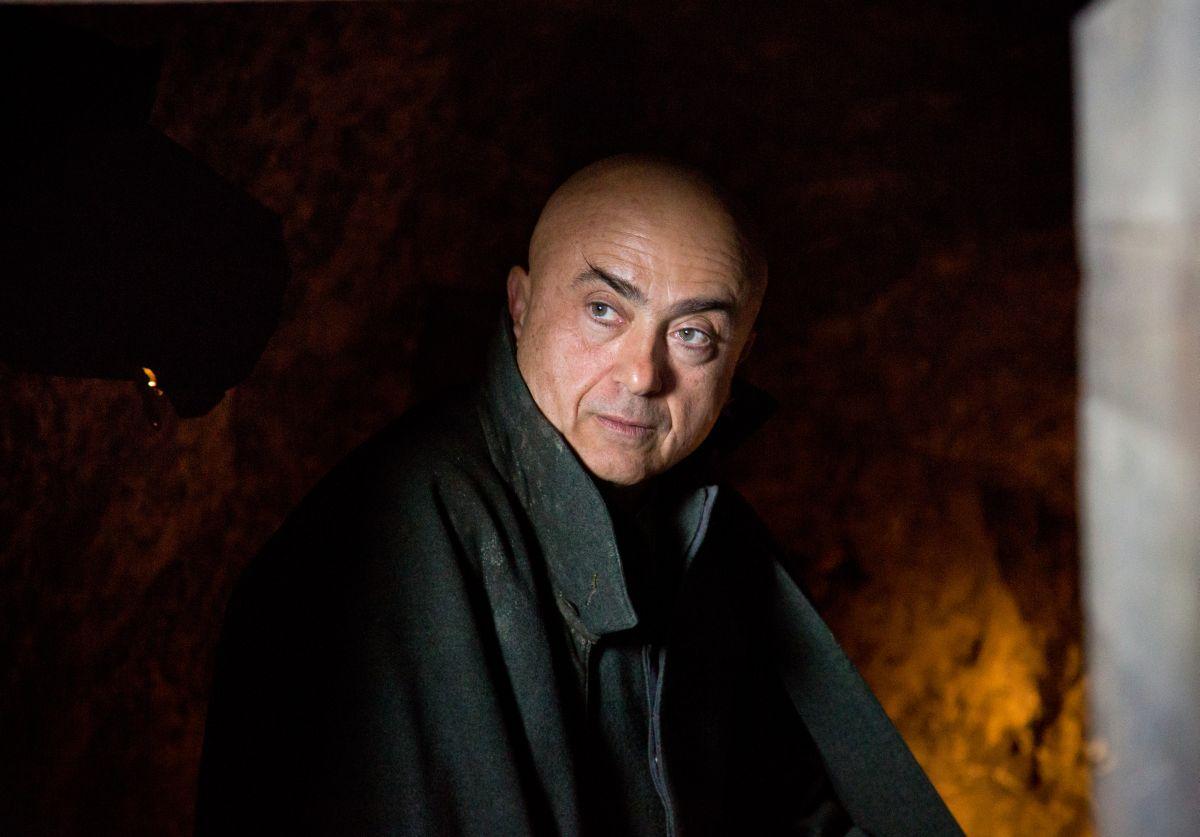 Soldato semplice: Paolo Cevoli. regista, interprete e autore del film, in una scena