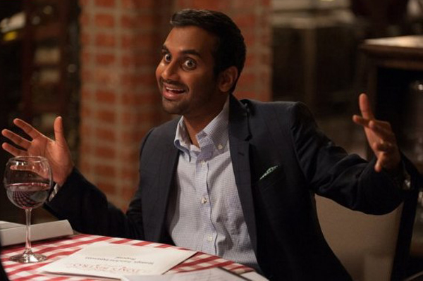 Parks and Recreation: Aziz Ansari in una scena dell'episodio One Last Ride