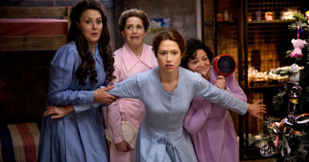 Unbreakable Kimmy Schmidt: Ellie Kemper in una scena della serie di Netflix