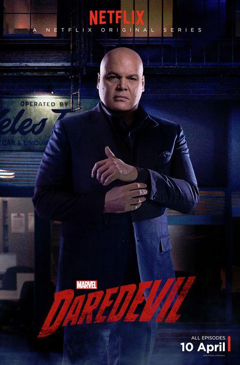 Daredevil: il character poster di Wilson Fisk