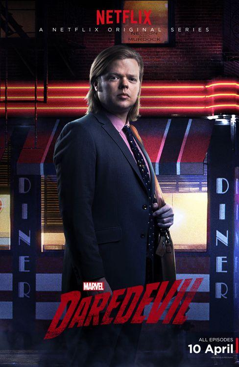 Daredevil: il character poster di Foggy Nelson