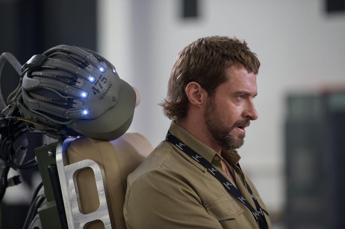 Humandroid: Hugh Jackman in una scena del film