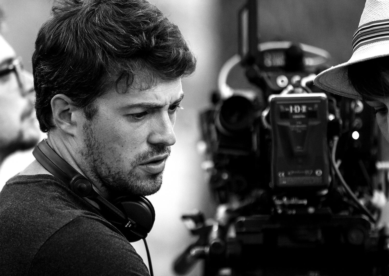 The Fighters - Addestramento di vita: il regista Thomas Cailley in una foto promozionale