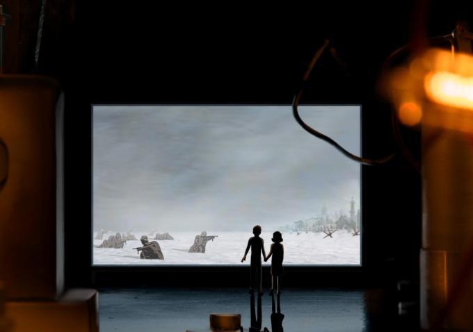 Untitled Anne Frank Project: un'immagine del film