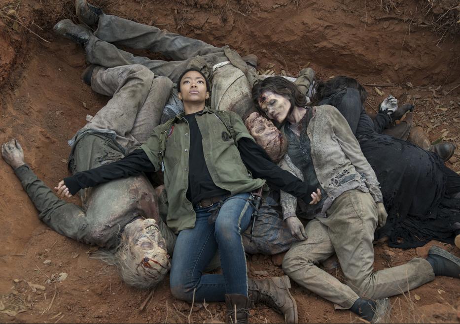 The Walking Dead: Sonequa Martin-Green nel finale della stagione 5