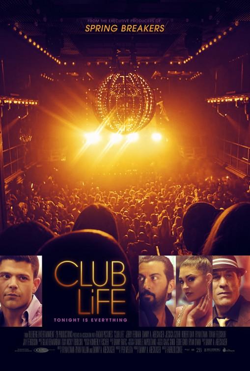 Locandina originale di Club Life