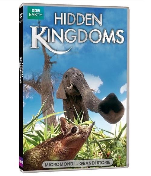 La cover DVD di Hidden Kingdoms