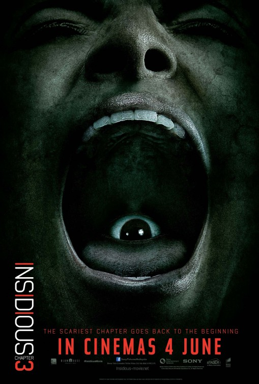 Insidious: Chapter 3 - Una nuova raccapricciante locandina