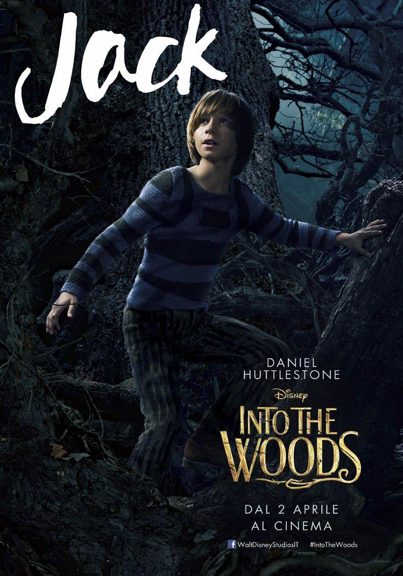 Into the Woods: il character poster italiano con Daniel Huttlestone nel ruolo di Jack de Il Fagiolo Magico