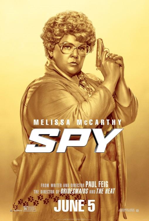 Spy: ecco una nuova locandina che vede Melissa McCarthy tutta d'oro