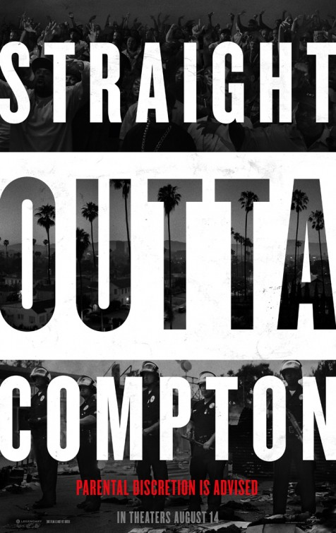 Straight Outta Compton: la nuova locandina