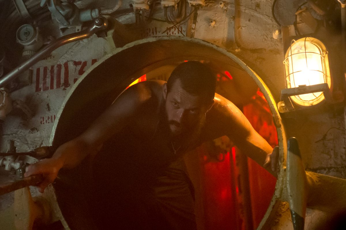 Black Sea: Grigoriy Dobrygin in una scena del film