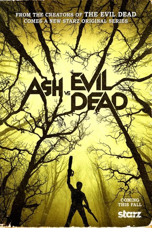 Ash vs. Evil Dead: la locandina della serie