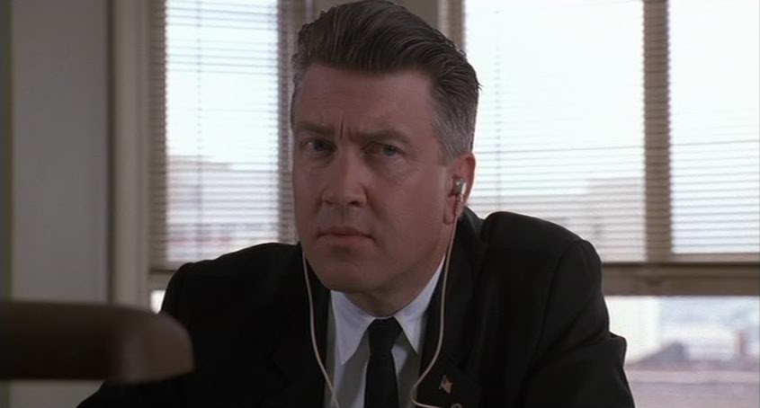 I segreti di Twin Peaks: David Lynch in una scena della serie
