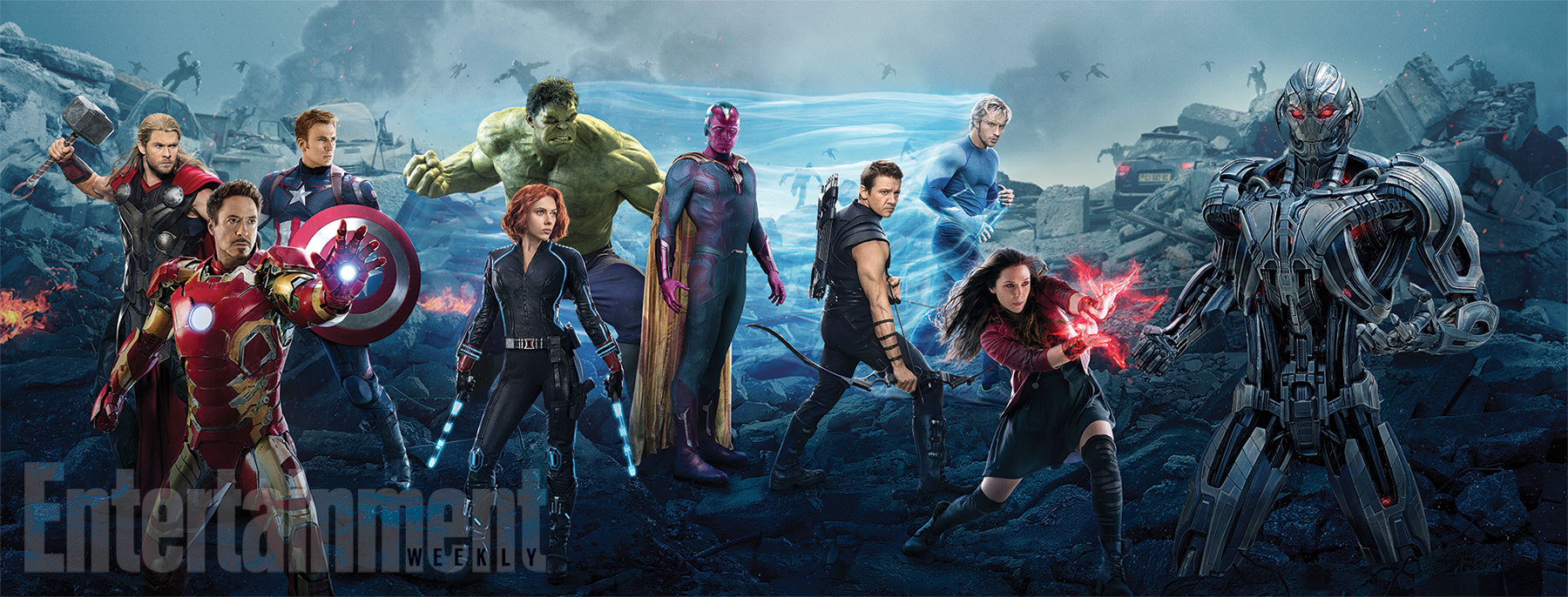 Avengers: Age of Ultron - Il banner realizzato per Entertainment Weekly