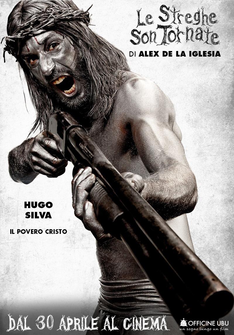 Le streghe son tornate: character poster di Hugo Silva