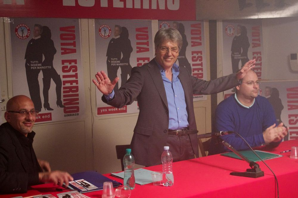 Ameluk: Maurizio Della Vallè in un momento del film