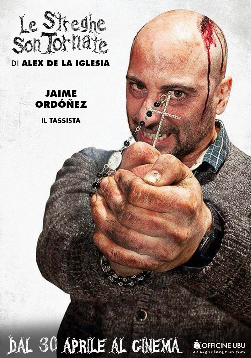 Le streghe son tornate: character poster di Jaime Ordonez