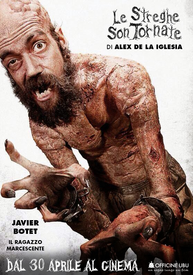 Le streghe son tornate: character poster di Javier Botet