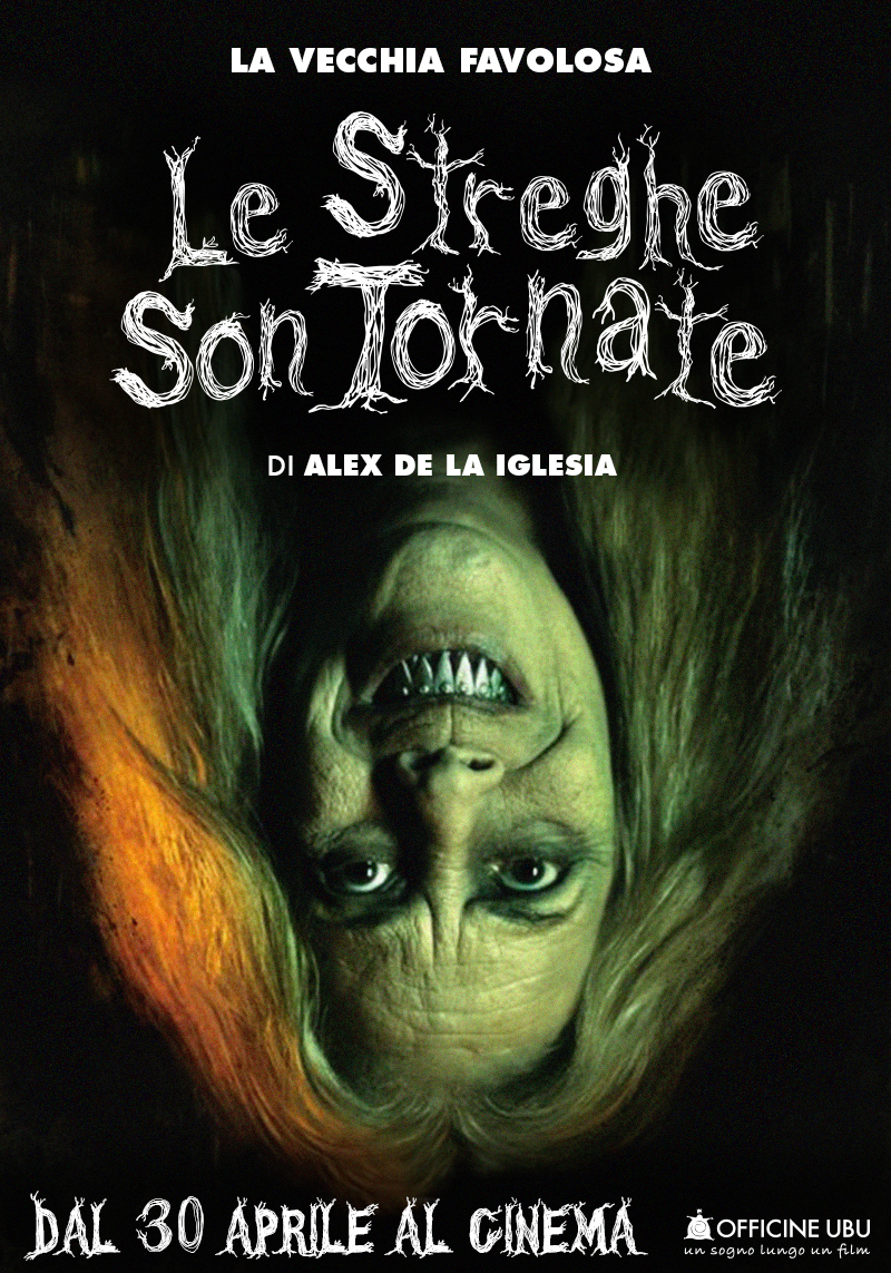 Le streghe son tornate: character poster con Carmen Maura