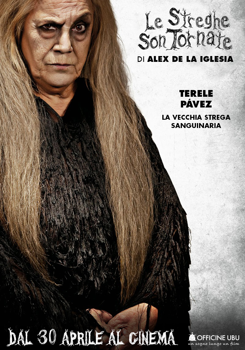Le streghe son tornate: character poster di Terele Pavez