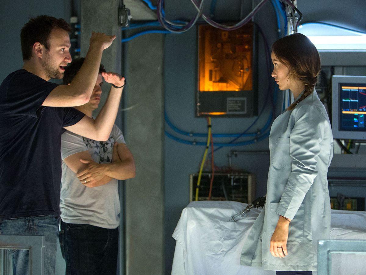 The Lazarus Effect: Olivia Wilde sul set del film con il regista David Gelb