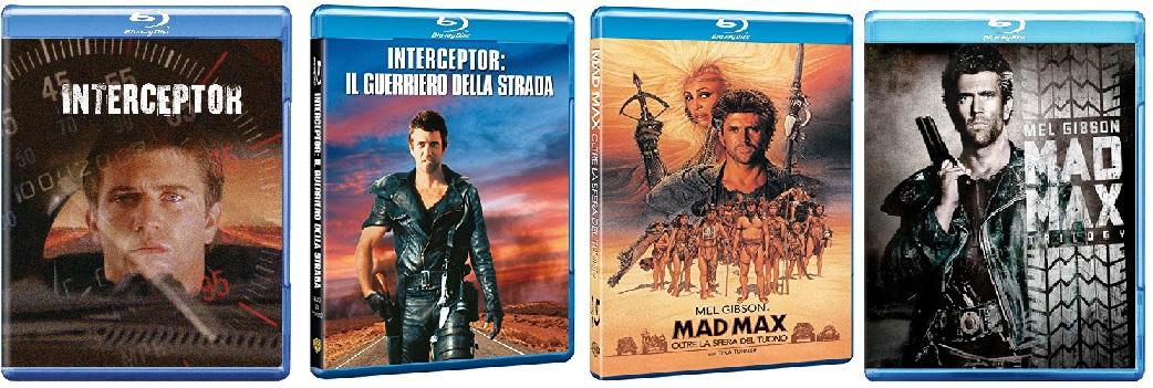 Le cover homevideo della saga di Mad Max