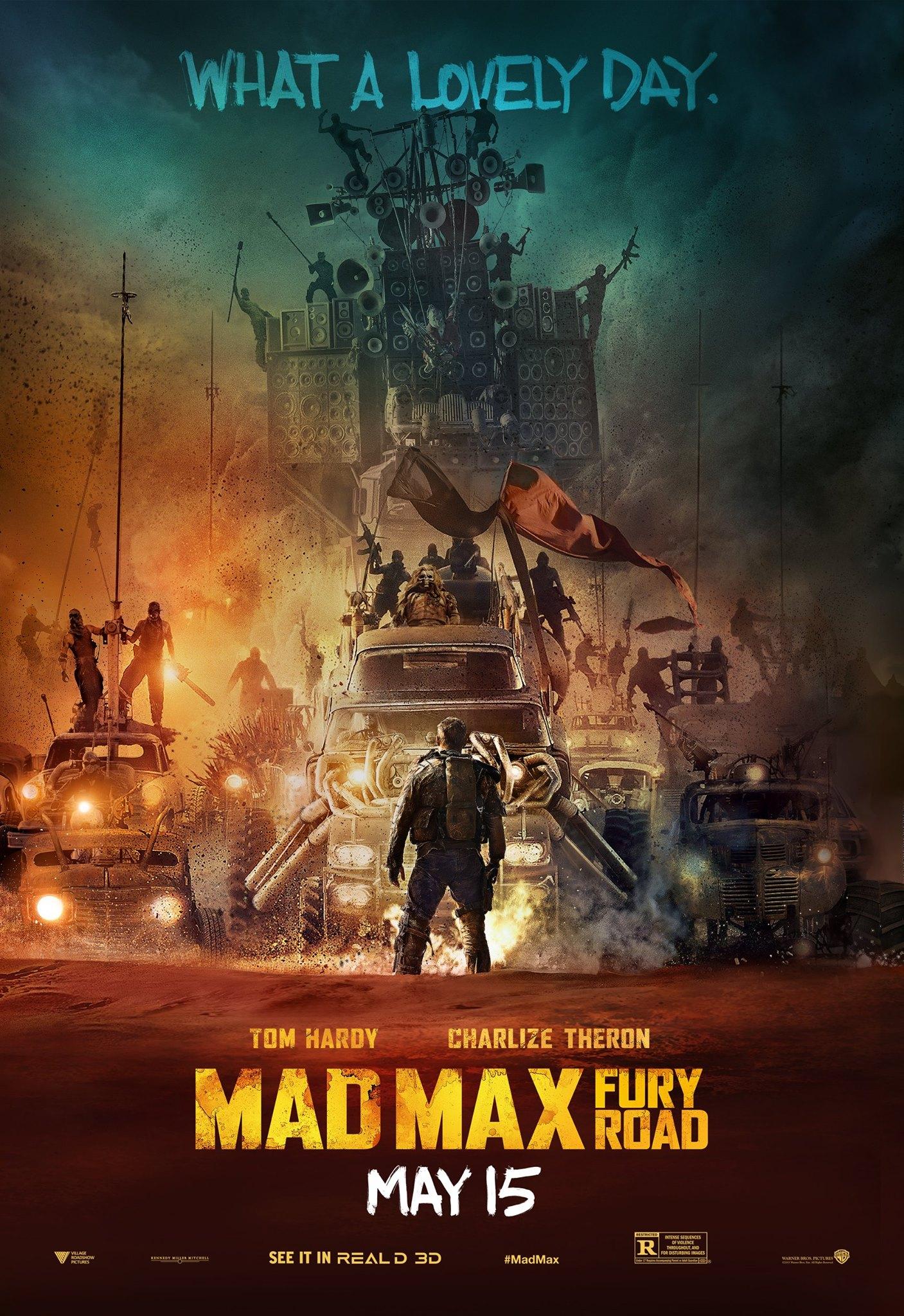 Mad Max: Fury Road - Un poster del film diretto da George Miller