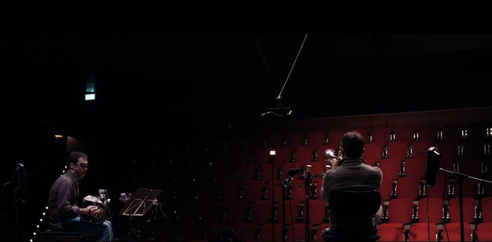 Wenn aus dem Himmel... Quando dal cielo...: Paolo Fresu e Daniele di Bonaventura in una scena del documentario