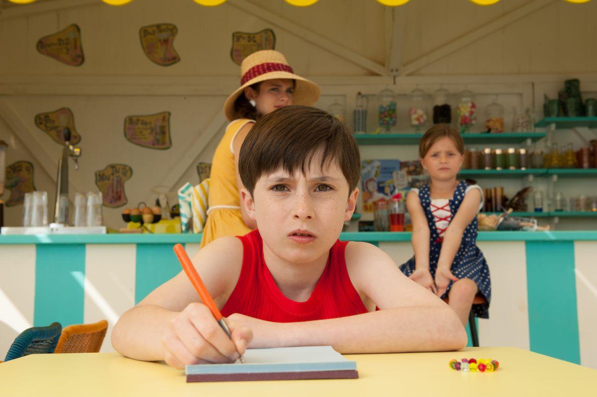 Le vacanze del piccolo Nicolas: Mathéo Boisselier nei panni del piccolo Nicolas in una scena